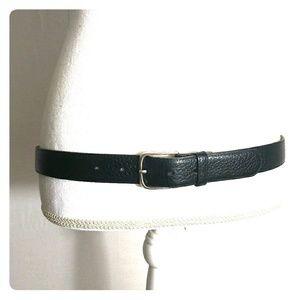 Other - Mens black Burma Calf leather belt size 36